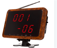 Табло вызова iKnopka APE1800 (коричневое)